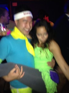Tight n Bright party. Photo by Dennis' iPhone '14. Let's never speak of this again.